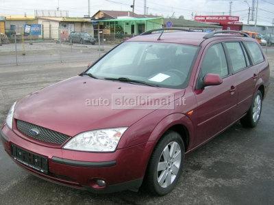 Ford Mondeo 2002 m., Universalas