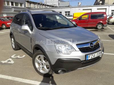 Opel Antara 2007 m., Visureigis